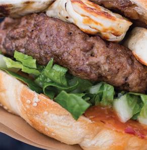 Perfect Pork & Halloumi Burgers