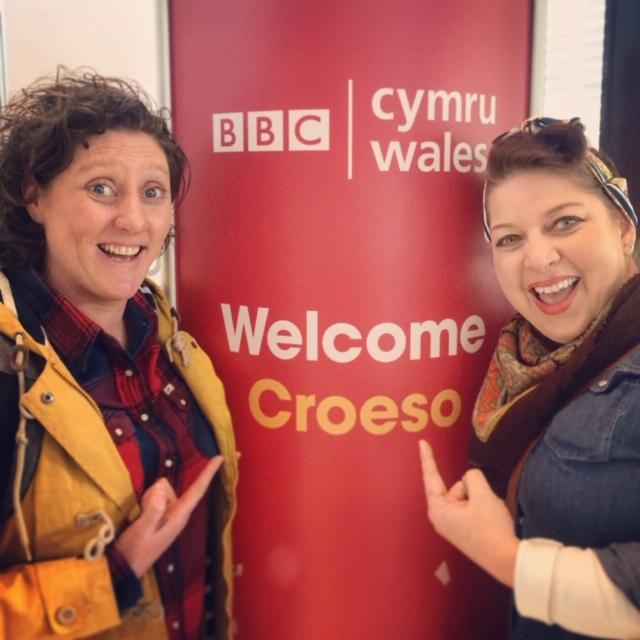 at BBC Radio Wales